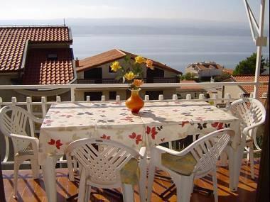A2(4): terrace view - 01409STAN A2(4) - Stanici - Stanici - rentals