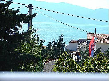 A2(2+2): terrace view - 00513GRAD  A2(2+2) - Gradac - Gradac - rentals