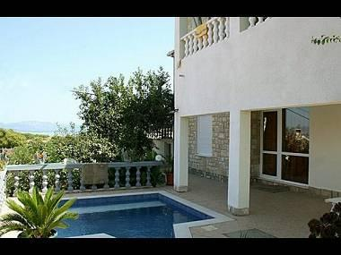 swimming pool (house and surroundings) - 00101NECU A4(4+4) - Necujam - Necujam - rentals