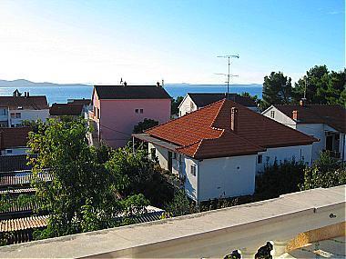 A1(2+2): terrace view - 00418ZADA A1(2+2) - Zadar - Zadar - rentals