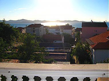 A2(5): terrace view - 00418ZADA A2(5) - Zadar - Zadar - rentals