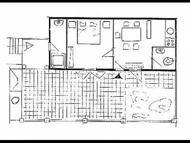 A1 citron(2): floor plan - 2445 A1 citron(2) - Priscapac - Prizba - rentals
