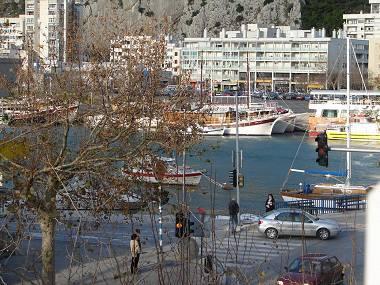 A1(2+3): sea view - 00109OMIS A1(2+3) - Omis - Central Dalmatia - rentals
