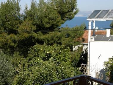 A2(4+1): balcony view - 2067 A2(4+1) - Splitska - Splitska - rentals
