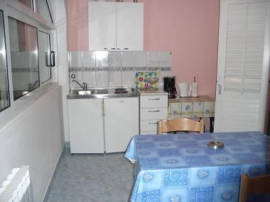 A5-Plavi(2): kitchen and dining room - 00103STAR  A5-Plavi(2) - Stari Grad - Stari Grad - rentals