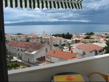 A2(2+2): balcony view - 2332  A2(2+2) - Baska Voda - Baska Voda - rentals