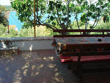 A1(4): terrace view - 001NECU  A1(4) - Necujam - Necujam - rentals