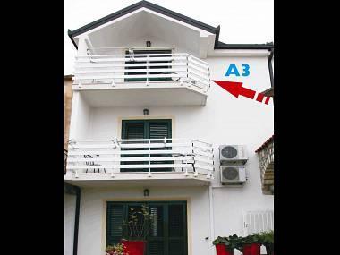 A3(3+1) Blue: apartment - 00913GRAD A3(3+1) Blue - Gradac - Gradac - rentals