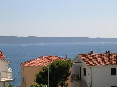 A2(5+1): terrace view - 2420 A2(5+1) - Okrug Gornji - Okrug Gornji - rentals