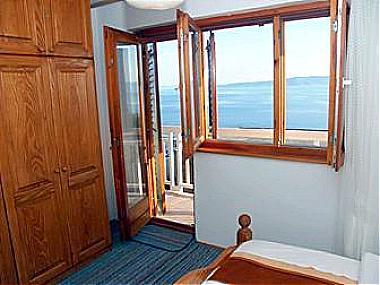 A1(4+2): window view - 00713BREL A1(4+2) - Brela - Brela - rentals