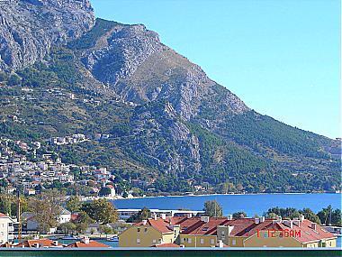 A2_manji(4): terrace view - A00509OMIS A2_manji(4) - Omis - Central Dalmatia - rentals