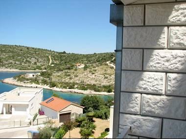 A2(7): terrace view - 1736  A2(7) - Cove Kanica (Rogoznica) - Cove Kanica (Rogoznica) - rentals