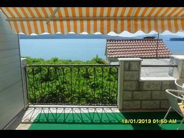 A1(4+1): terrace view - 00807TROG A1(4+1) - Trogir - Trogir - rentals