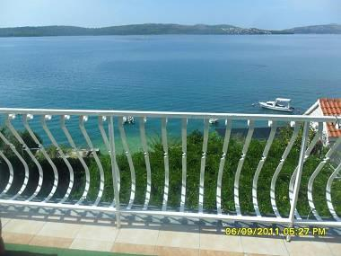 A2(6+2): terrace view - 00807TROG A2(6+2) - Trogir - Trogir - rentals