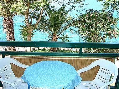 A1(4+2): balcony - 00103HMIL A1(4+2) - Milna (Hvar) - Milna - rentals