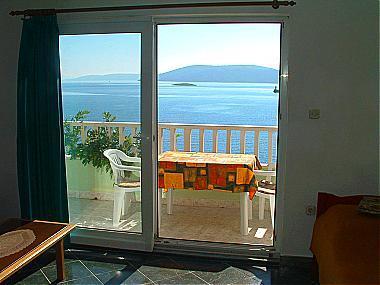 A5(2+2): terrace - 00907VINI A5(2+2) - Vinisce - Vinisce - rentals