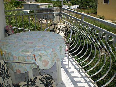 A7(3+1): balcony - 00203SUCU  A7(3+1) - Sucuraj - Sucuraj - rentals