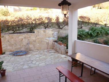 A4(4): terrace - 00303IVAN  A4(4) - Ivan Dolac - Ivan Dolac - rentals