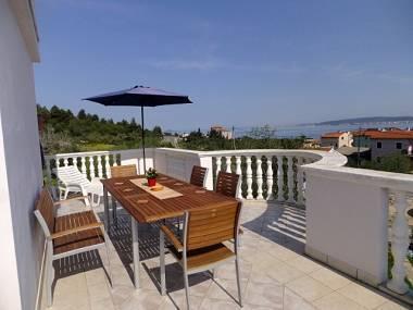 A1(8+1): terrace - 00420DOBR A1(8+1) - Dobropoljana - Dobropoljana - rentals