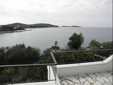 A1(6): terrace view - 2369 A1(6) - Cove Lozica (Rogoznica) - Cove Lozica (Rogoznica) - rentals