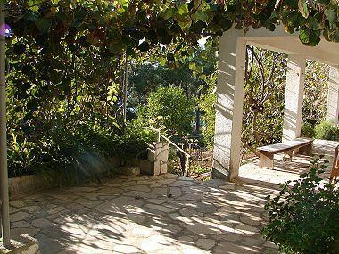 A2(4+1): garden terrace - 00707TROG A2(4+1) - Trogir - Trogir - rentals