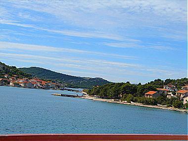 A1(4+1): terrace view - 01010TISN A1(4+1) - Tisno - Tisno - rentals