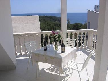 A7(3): terrace - 00404RUKA A7(3) - Cove Rukavac - Rukavac - rentals