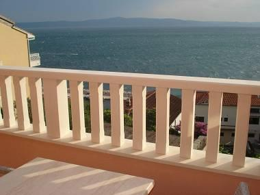 A6 2.kat(2+2): terrace view - 01413PODG  A6 2.kat(2+2) - Podgora - Podgora - rentals