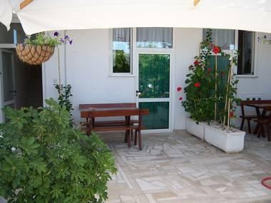 A1(2+2): covered terrace - 01513MAKA A1(2+2) - Makarska - Makarska - rentals