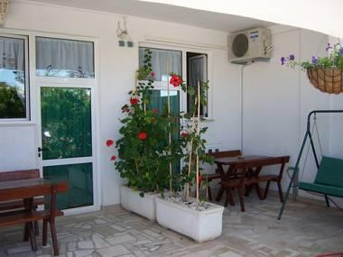 A2(2+2): covered terrace - 01513MAKA A2(2+2) - Makarska - Makarska - rentals