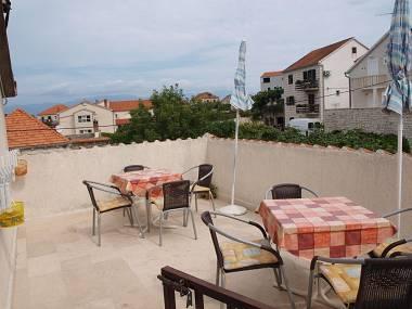 A4(2+2): common terrace - 001SUTI  A4(2+2) - Sutivan - Sutivan - rentals