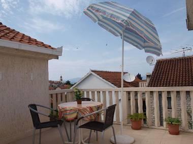 A6(2): terrace - 001SUTI  A6(2) - Sutivan - Sutivan - rentals
