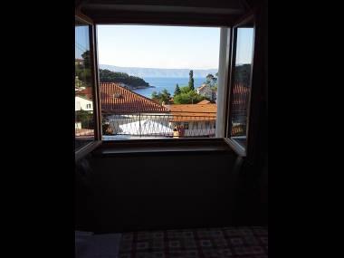 A1(2+2): window view - 00403JELS A1(2+2) - Jelsa - Jelsa - rentals