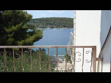 D(2+2): terrace view - 00502NECU D(2+2) - Necujam - Necujam - rentals