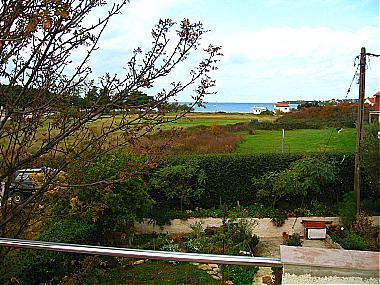 A1(4+2): terrace view - 00218PETR A1(4+2) - Petrcane - Petrcane - rentals