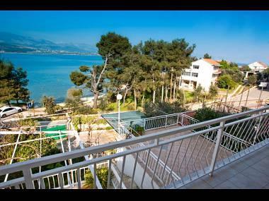 A2(6+1): terrace view - 00112TROG  A2(6+1) - Trogir - Trogir - rentals