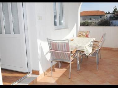 A1(4+1): terrace - A00710MURT A1(4+1) - Murter - Murter - rentals