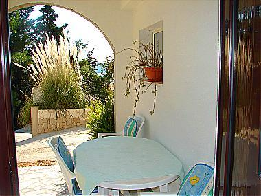 A2(4+2): covered terrace - 01612TROG A2(4+2) - Trogir - Trogir - rentals
