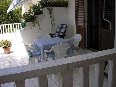 A2(2): terrace - 06403HVAR A2(2) - Hvar - Hvar - rentals