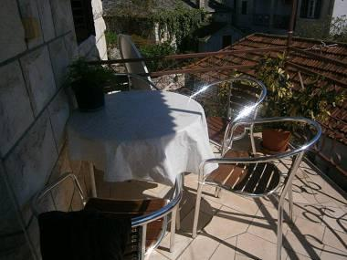 A1(4+1): covered terrace - 05101SUPE  A1(4+1) - Supetar - Supetar - rentals