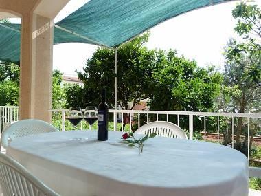 A2(4+1): terrace - 01612OKRG A2(4+1) - Okrug Gornji - Okrug Gornji - rentals