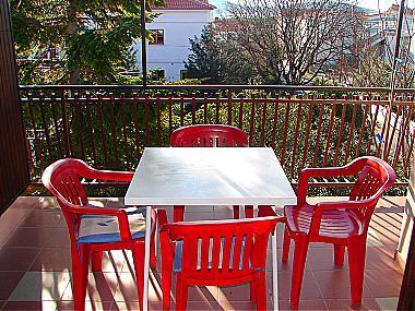 A1(4+1): covered terrace - 00706VODI A1(4+1) - Vodice - Vodice - rentals