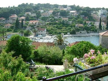 A2(2): terrace view - 02201SPLI A2(2) - Splitska - Splitska - rentals