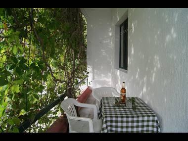 A5(4+2): terrace - 00213ZIVO  A5(4+2) - Zivogosce - Zivogosce - rentals