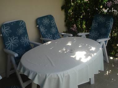 A1(4+2): covered terrace - 08001SUPE A1(4+2) - Supetar - Supetar - rentals