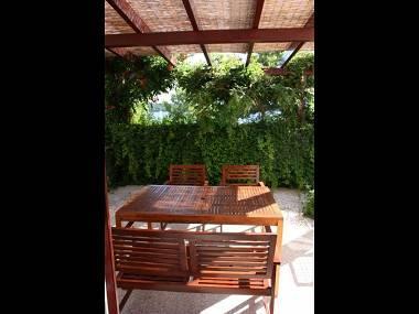 A1(2+2): covered terrace - 01603JELS A1(2+2) - Jelsa - Jelsa - rentals
