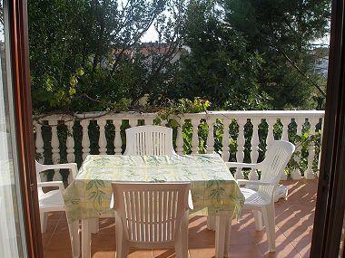 A1(4+2): terrace - 001PRIV A1(4+2) - Privlaka - Privlaka - rentals
