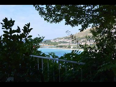 A1(4+1): view - 001OMIS  A1(4+1) - Omis - Central Dalmatia - rentals