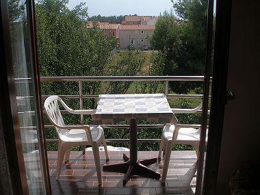 A2(4+2): terrace - 001PRIV A2(4+2) - Privlaka - Privlaka - rentals