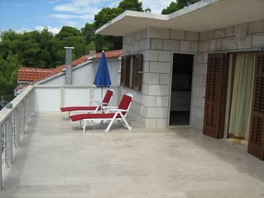 A5(4+1): terrace - 2190 A5(4+1) - Povlja - Povlja - rentals